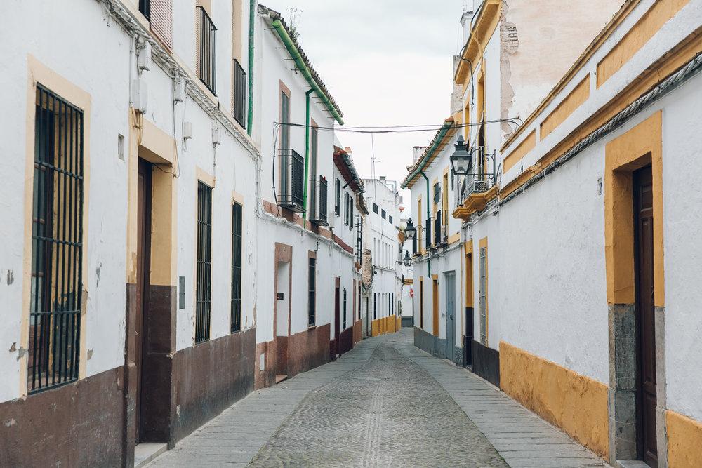 Idyllic streets in Cordoba, Andalusia.