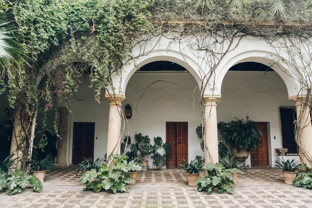 Palacio de Viana in Cordoba, Andalusia.