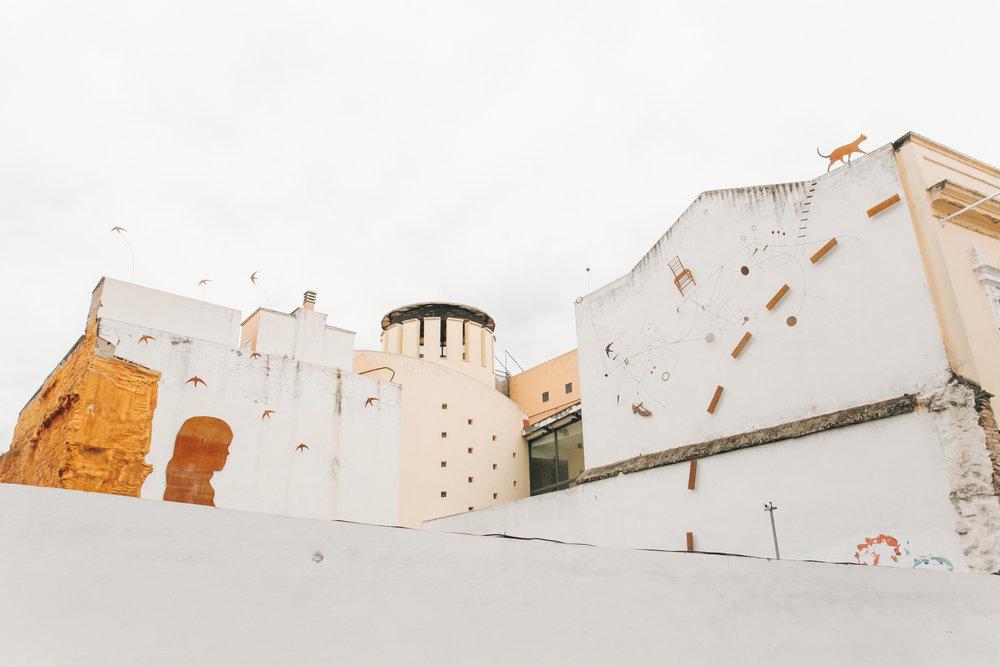 Architecture in Cordoba, Andalusia.