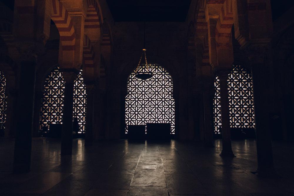 The Mezquita in in Cordoba, Andalusia.