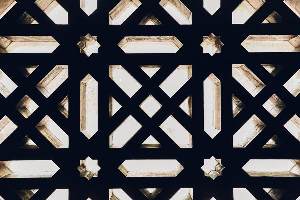 Moorish architecture in Cordoba, Andalusia.