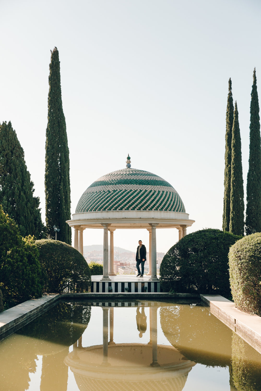 Malaga Botanical Gardens, Spain.