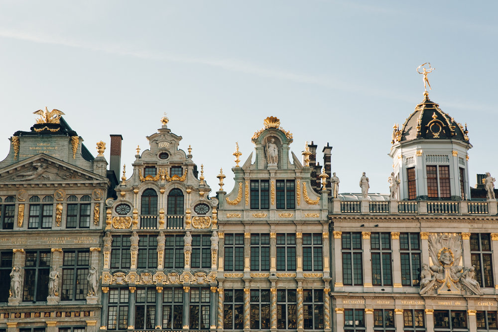 Exploring Brussels in Belgium.