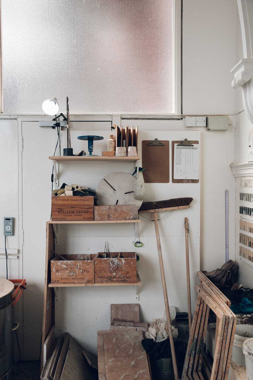 Inside the Glasgow studio of ceramicist Jono Smart.