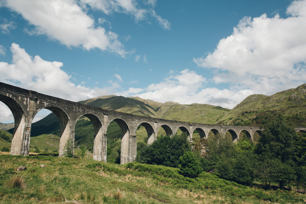 Scotland in the Summer - Glenfinnan Viaduct.