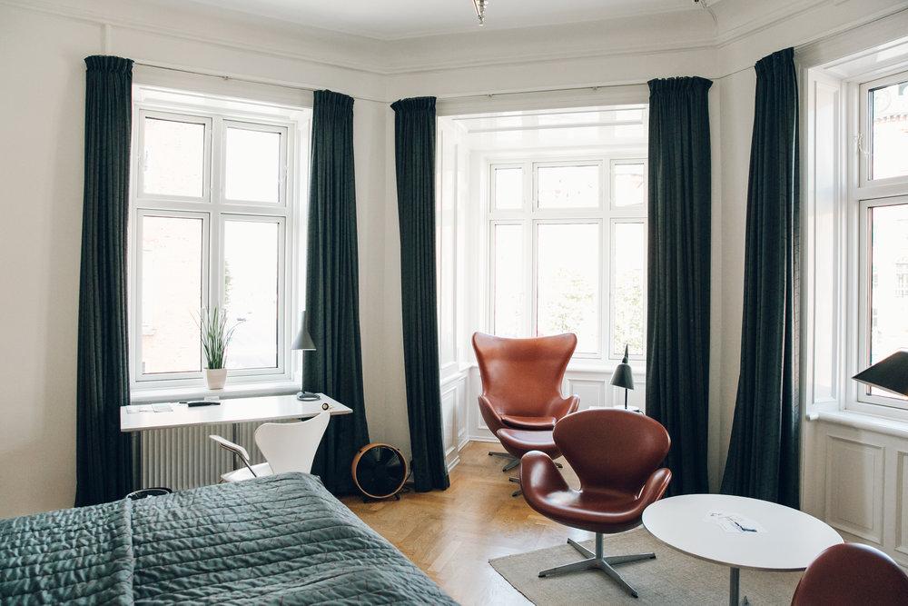 Hotel Alexandra in Copenhagen.