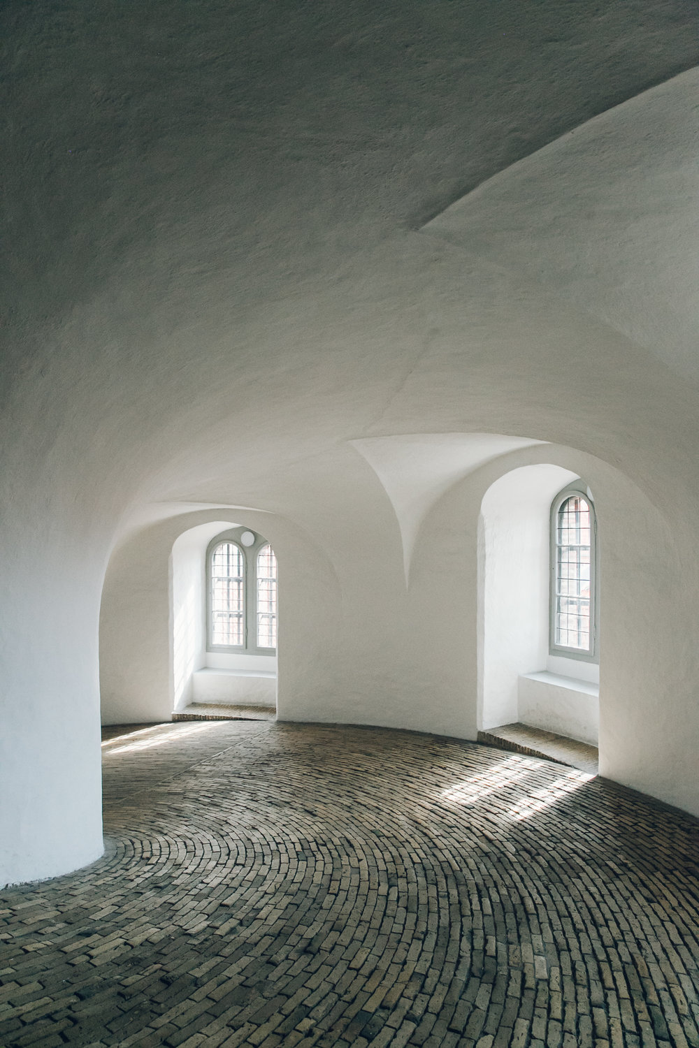 72 hours in Copenhagen - inside the Rundetarn.