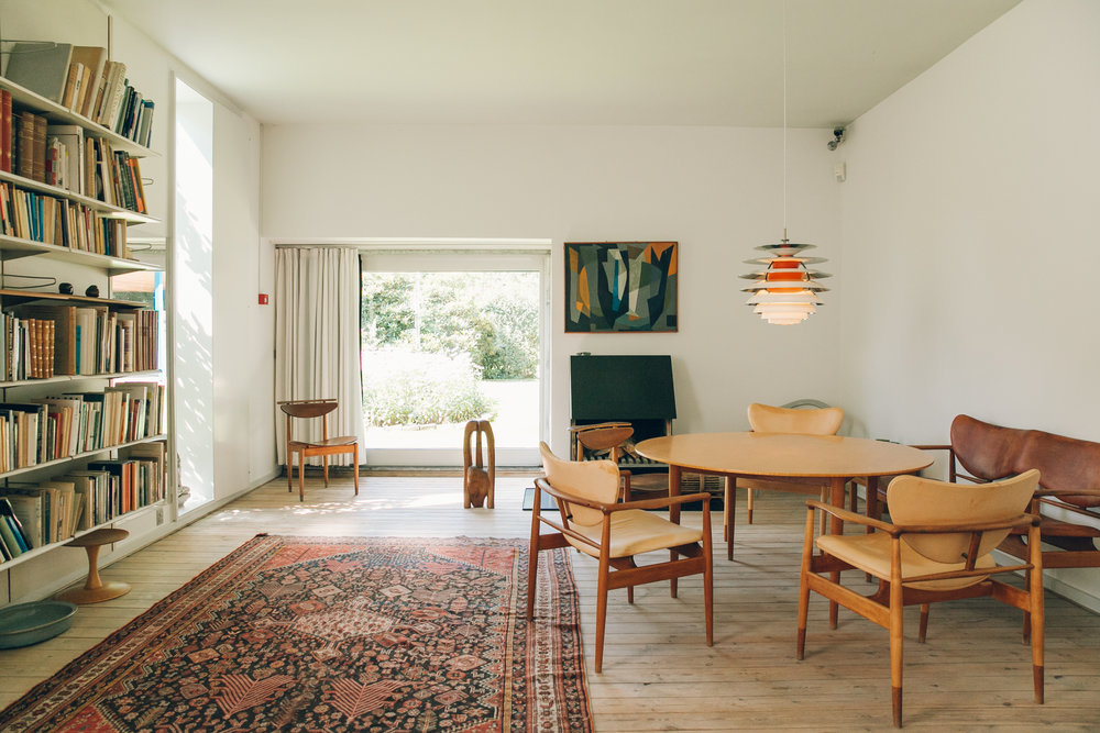 72 hours in Copenhagen - Finn Juhl's House.