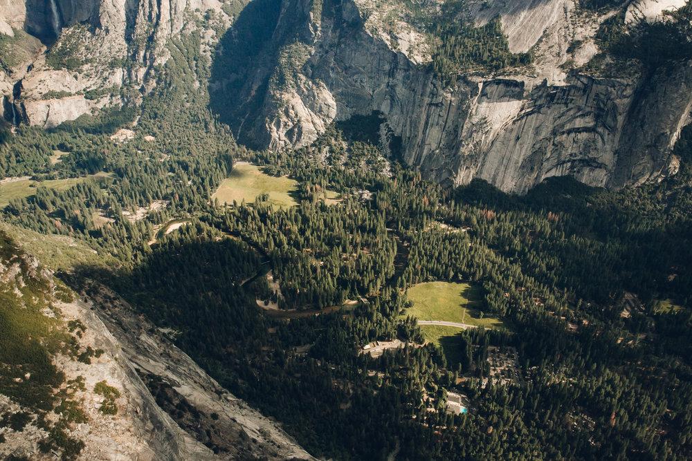 Yosemite National Park California Valley Floor