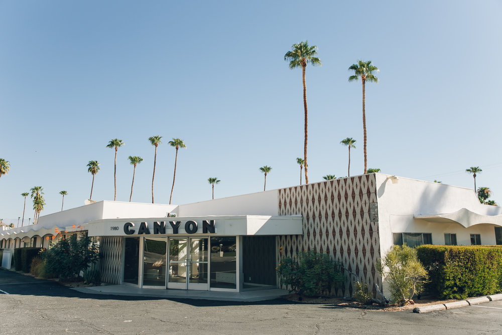 Palm Springs California Canyon Building