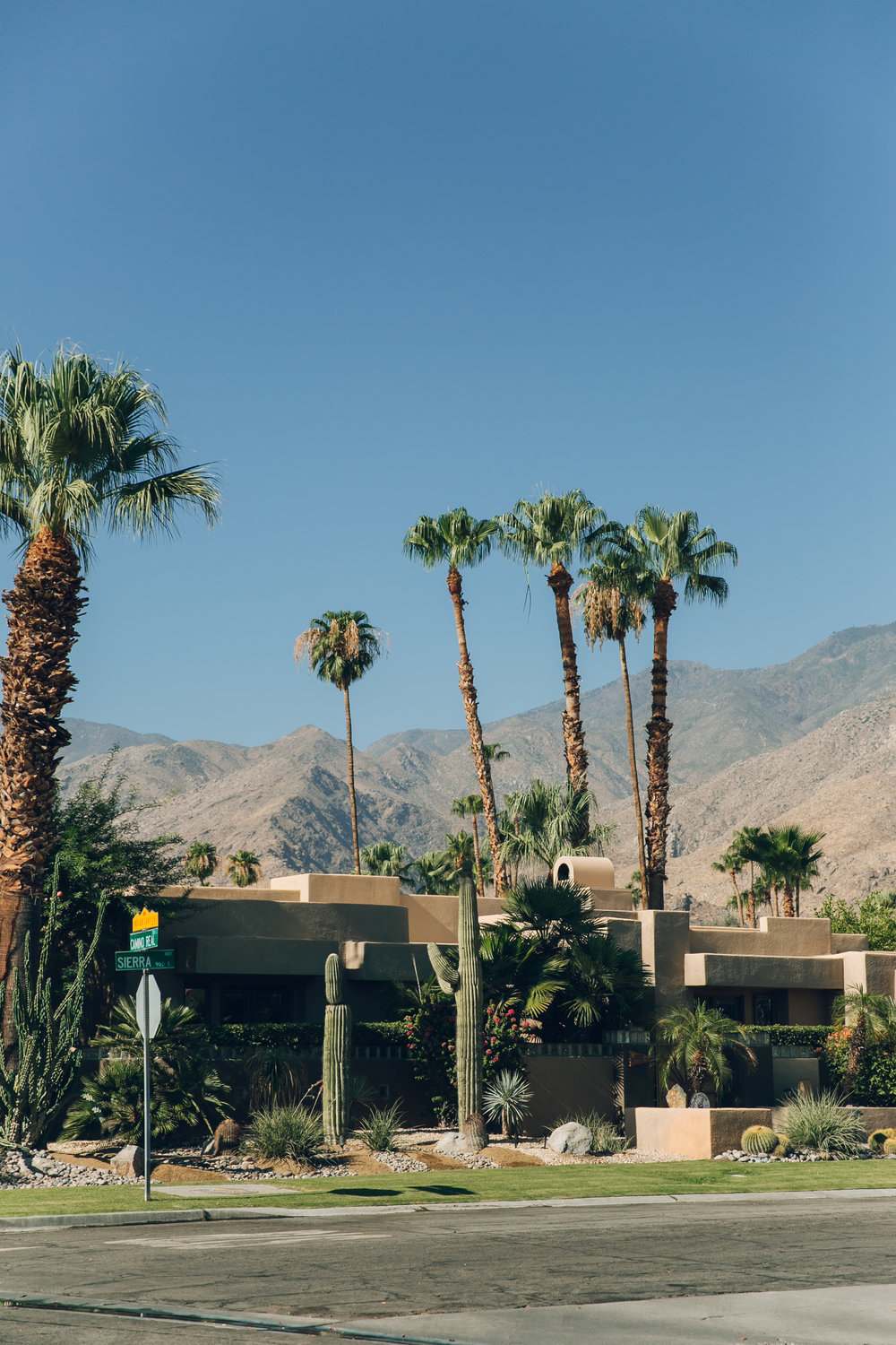 Palm Springs California Brick House
