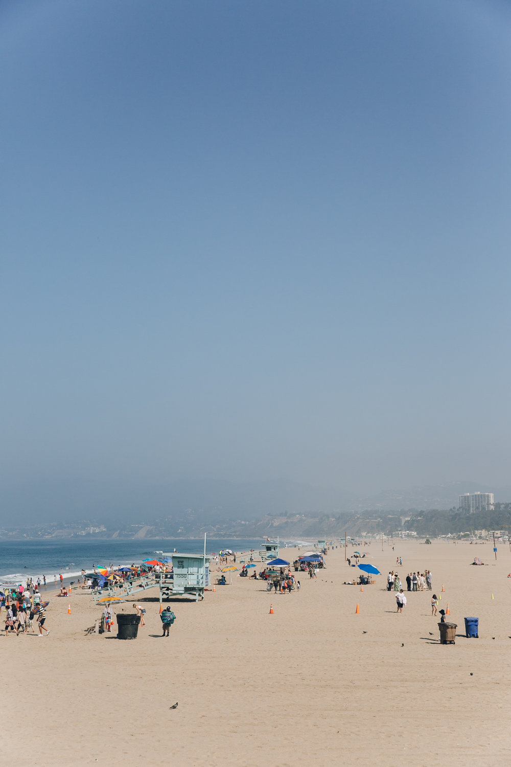 Santa Monica LA California Beach