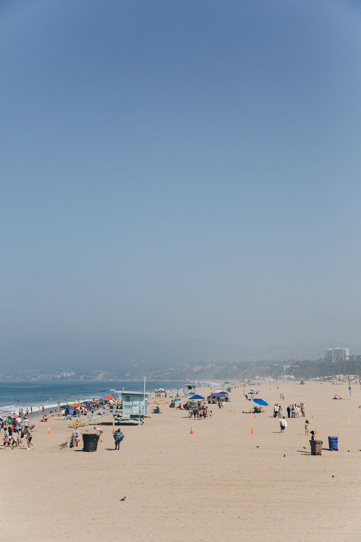 Santa Monica LA California Beach