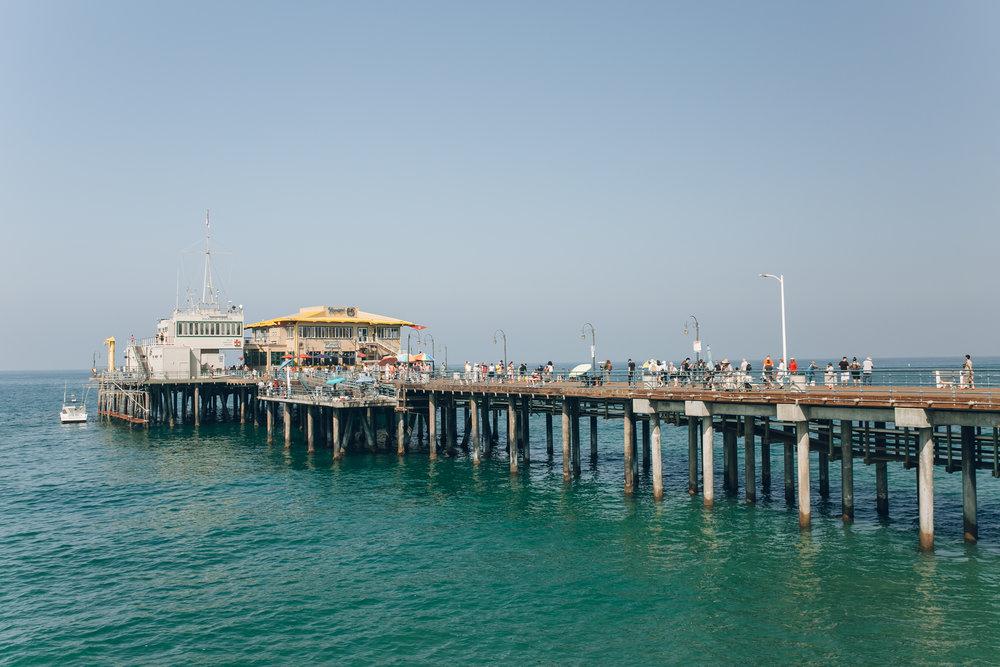 Santa Monica Pier LA California