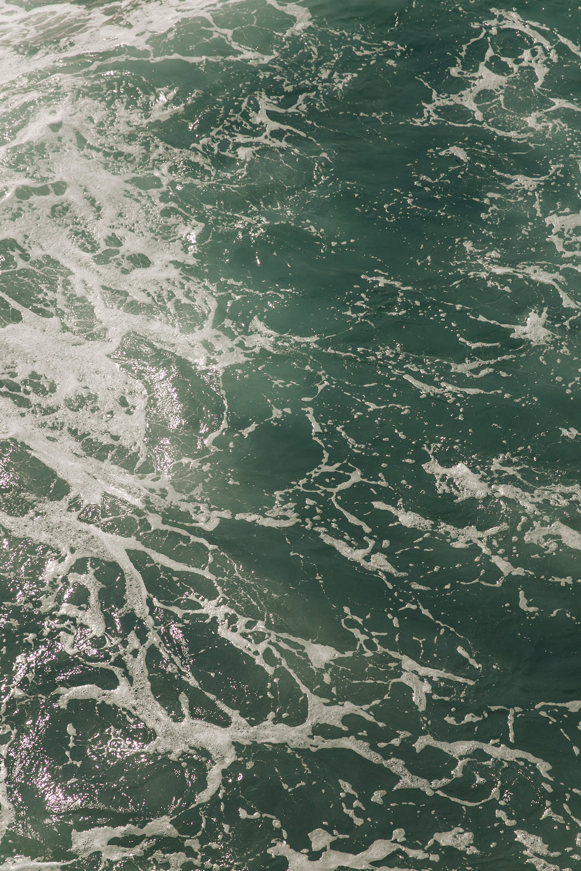 Santa Monica LA California Ocean Swell