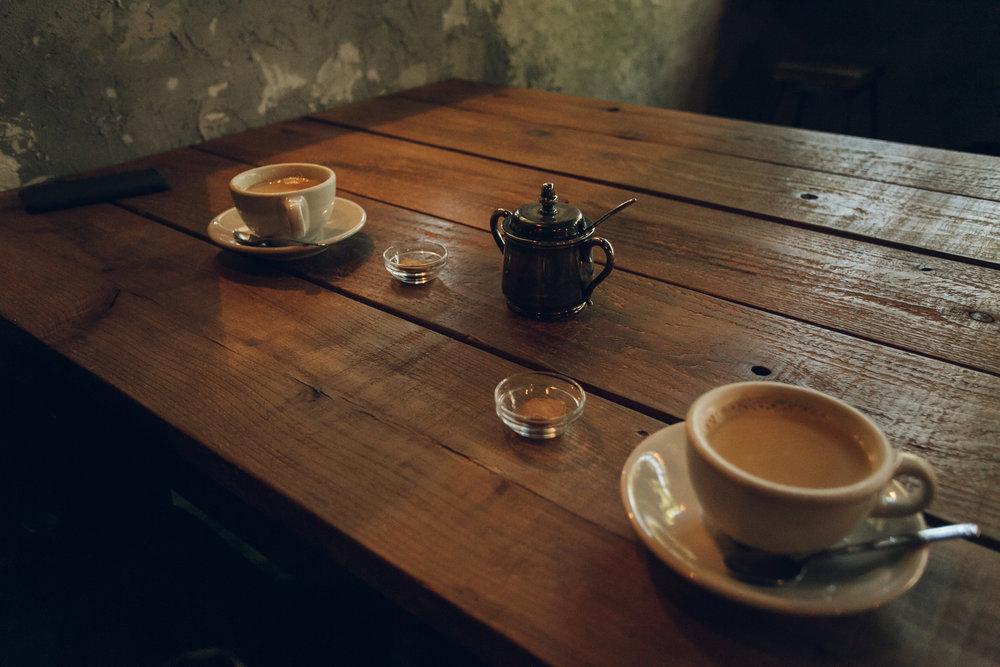 Clamp Coffee Sarasa in Kyoto - Haarkon in Japan.