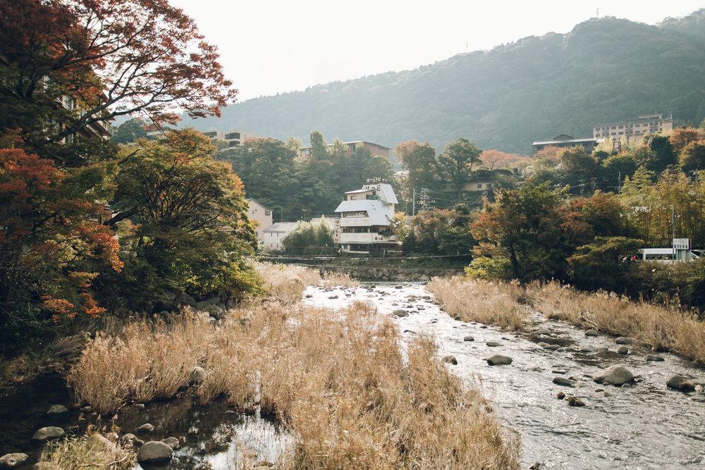 Hakone - Haarkon in Japan.