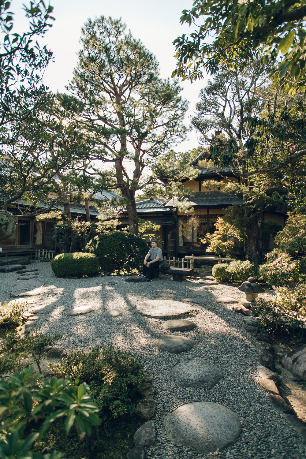 Yoshiki-en Garden in Nara - Haarkon in Japan.