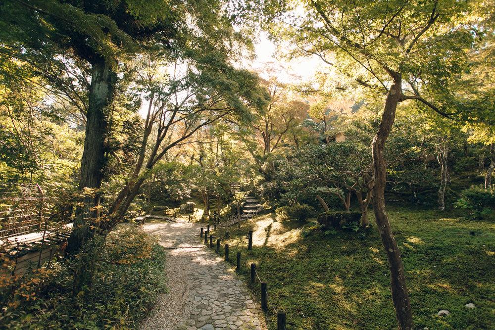 Yoshiki-en Garden in Nara - Haarkon in Japan.