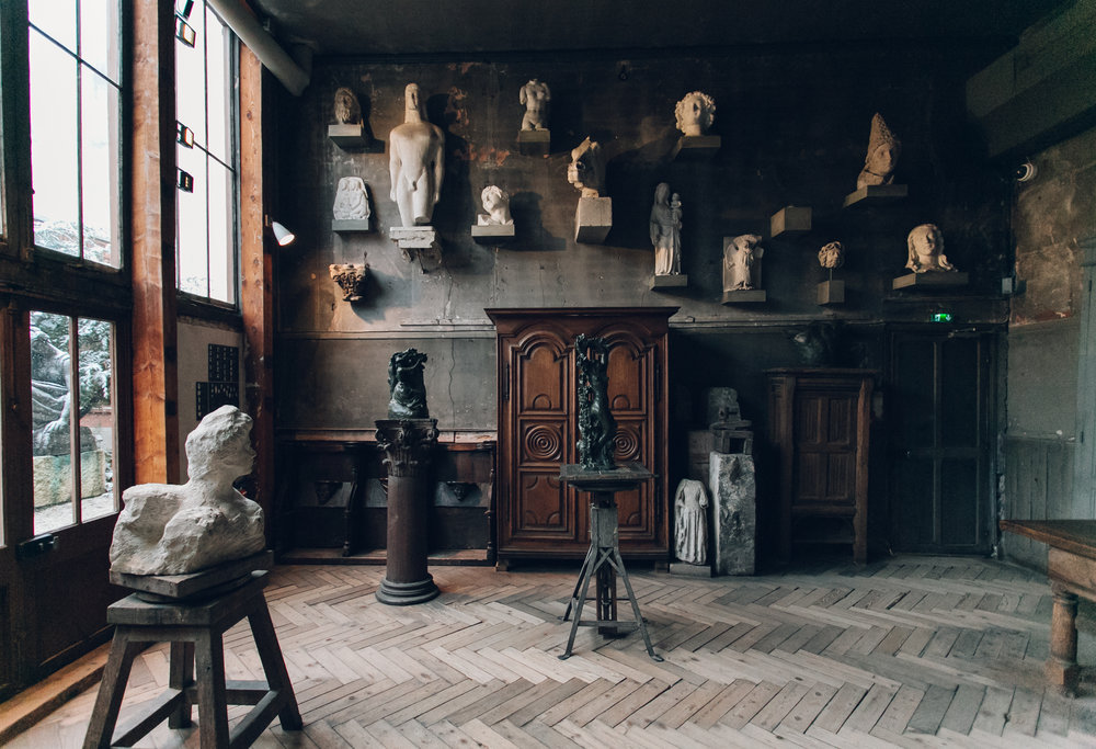 Paris in the Winter by Haarkon and Airbnb. Musee Bourdelle.