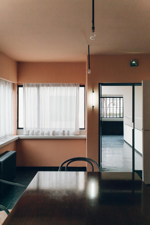 Maison la Roche in Paris, photographed by Haarkon.
