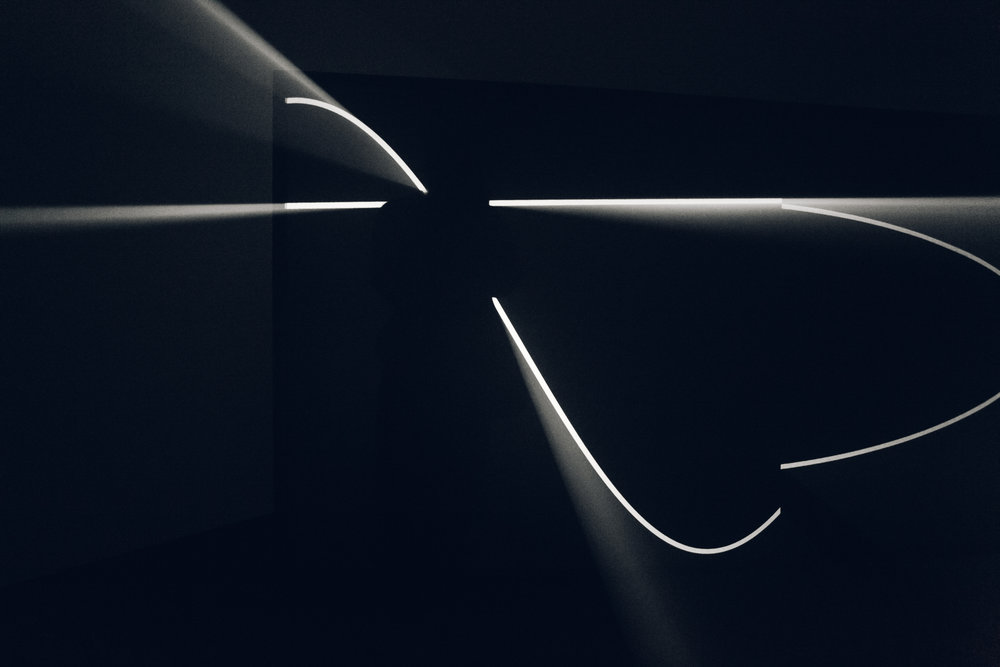 Anthony McCall: Solid Light Works at the Hepworth Wakefield.