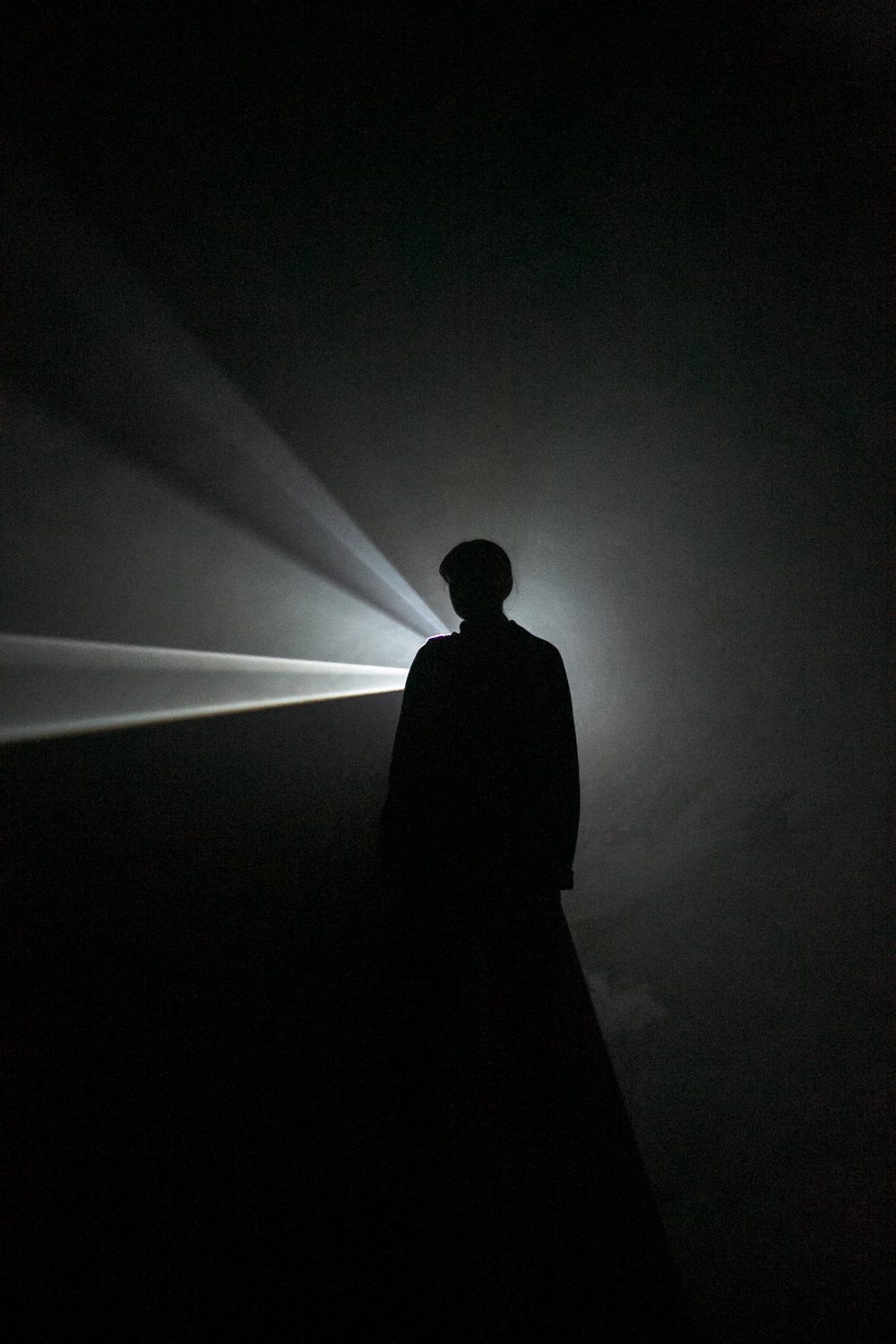 Hepworth Wakefield by Haarkon. Anthony McCall: Solid Light Works.