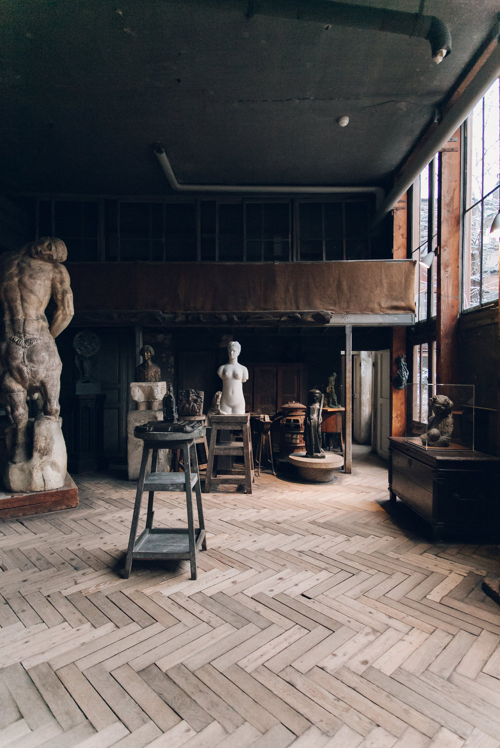 Musée Bourdelle in Paris by Haarkon.