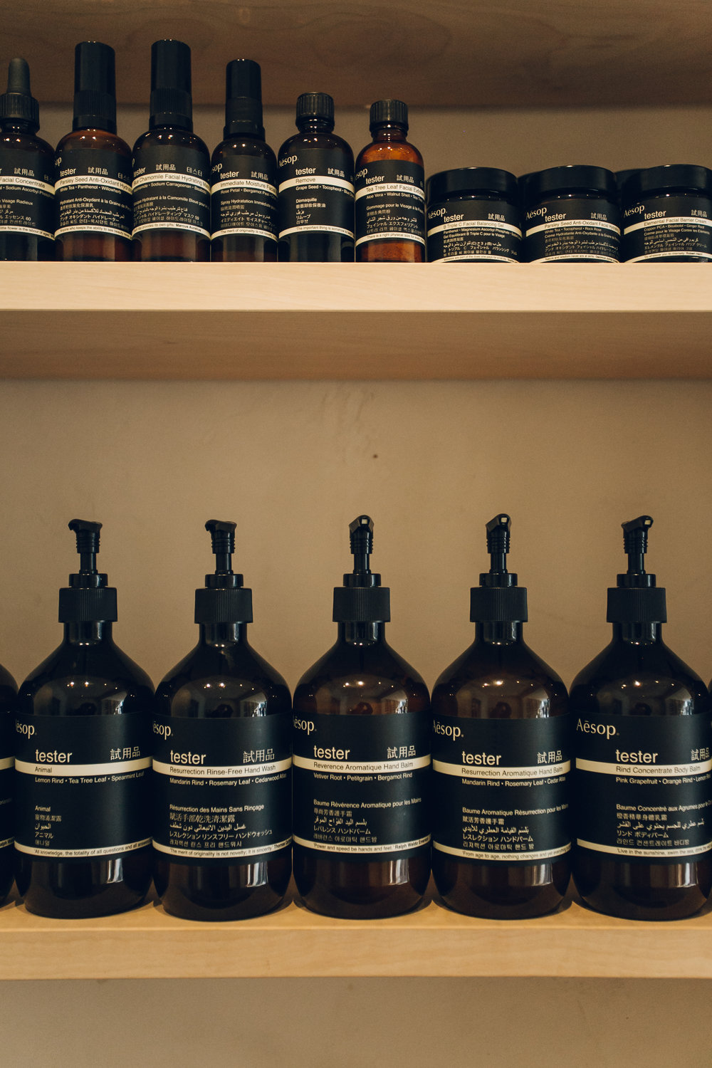 Aesop store in Stockbridge, Edinburgh by Haarkon
