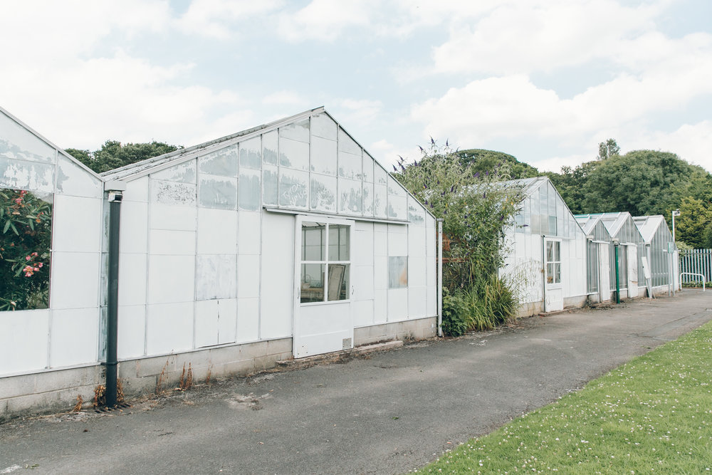 Wythenshawe Park Greenhouses, photographed by Haarkon