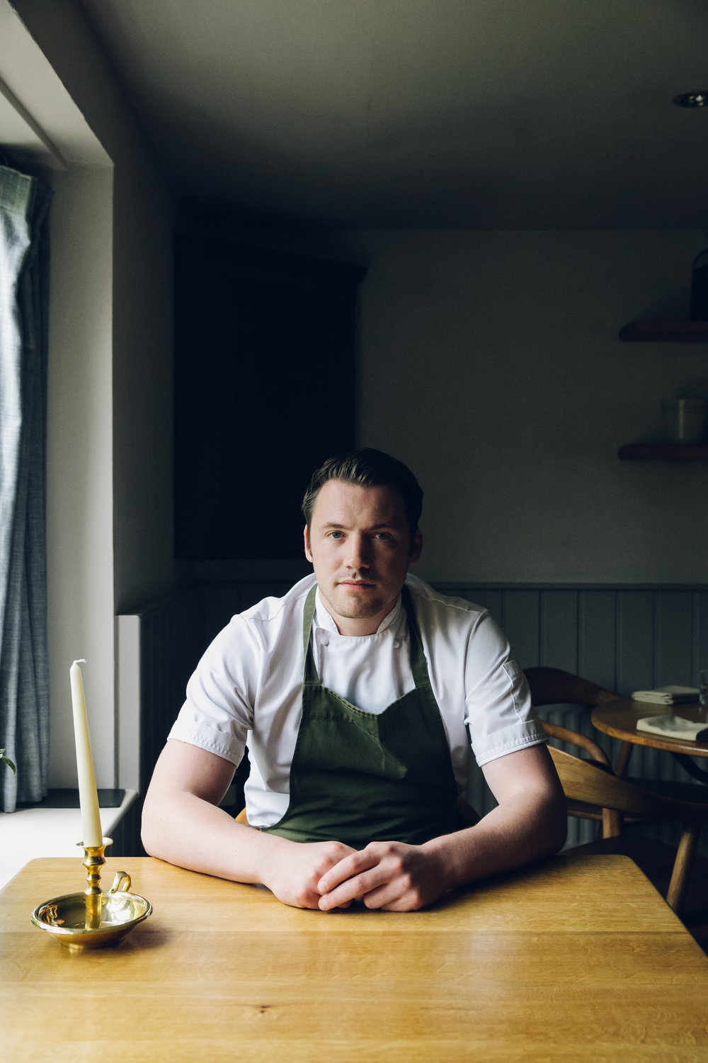 Chef Tommy Banks at The Black Swan Oldstead