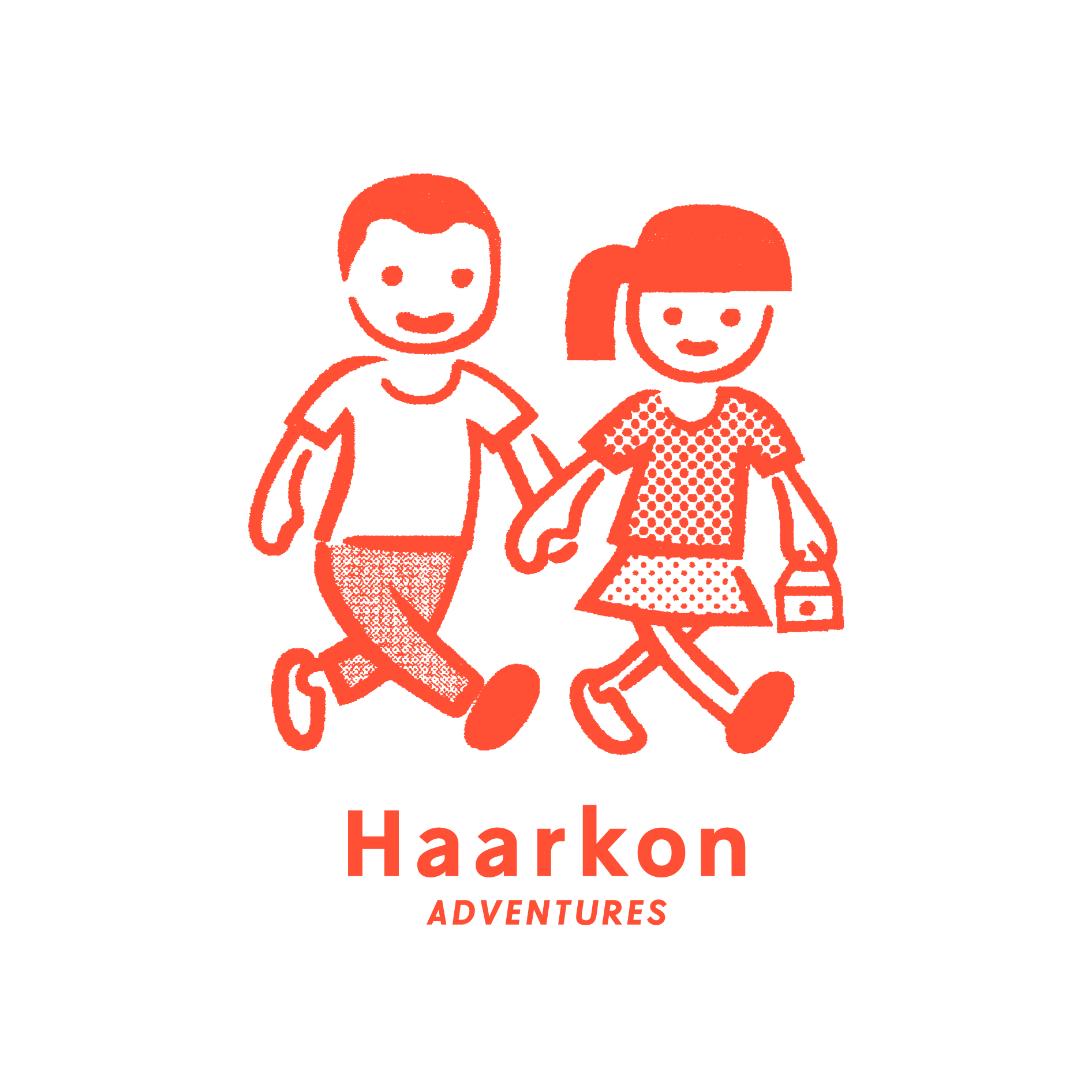 Haarkon characters sticker
