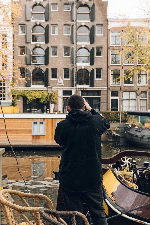 Haarkon in Amsterdam
