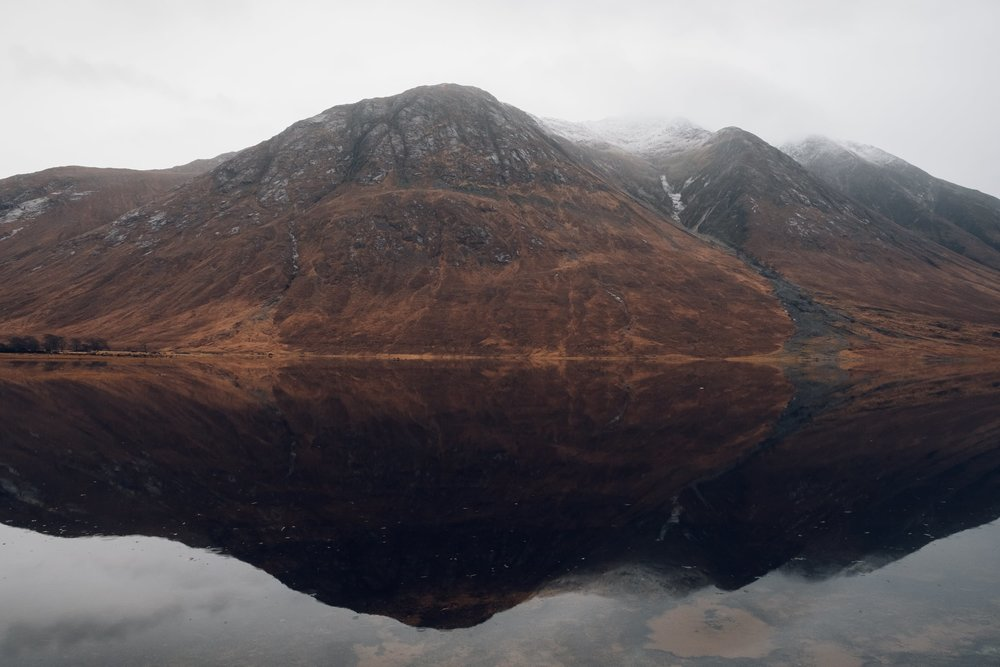 Glen Etive in Scotland photographed by Haarkon