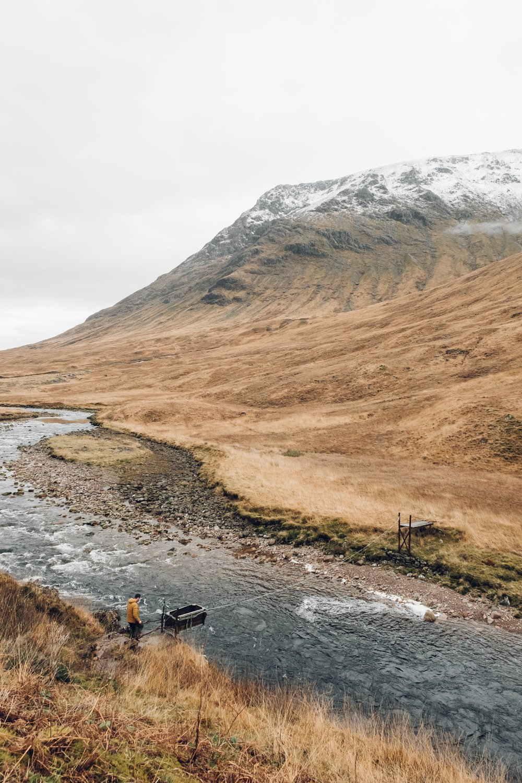 Glen Etive in Scotland photographed by Haarkon