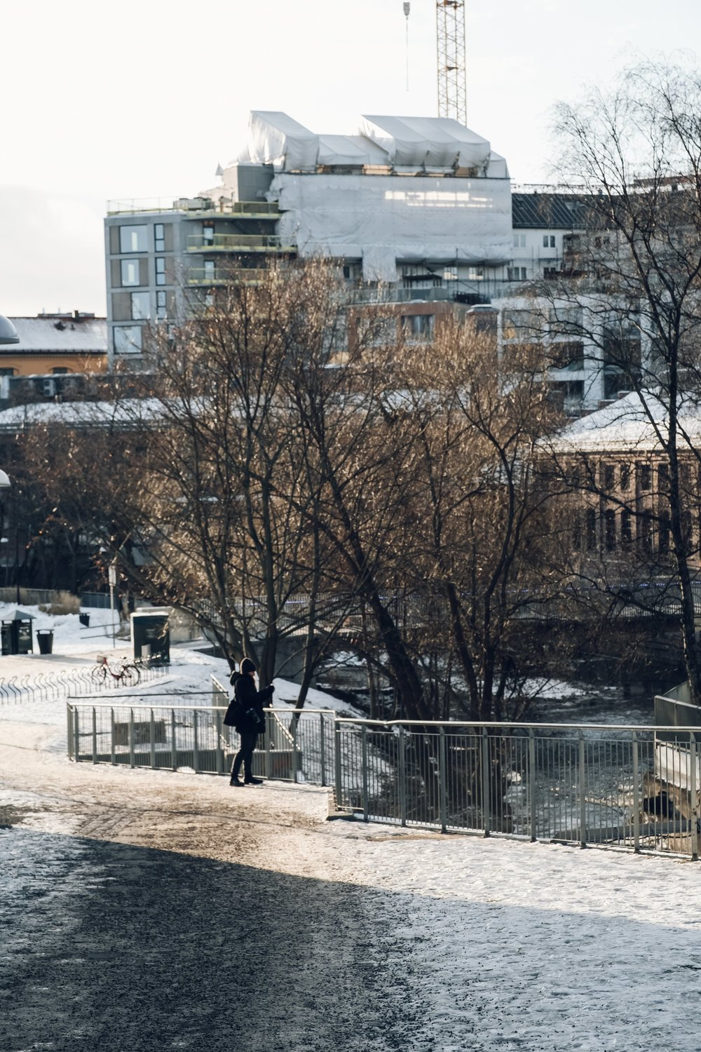 Walking the Akerselva River in Oslo by Haarkon
