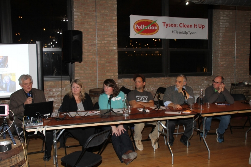 Photo from Clean Water / Clean Food Forum on November 16th