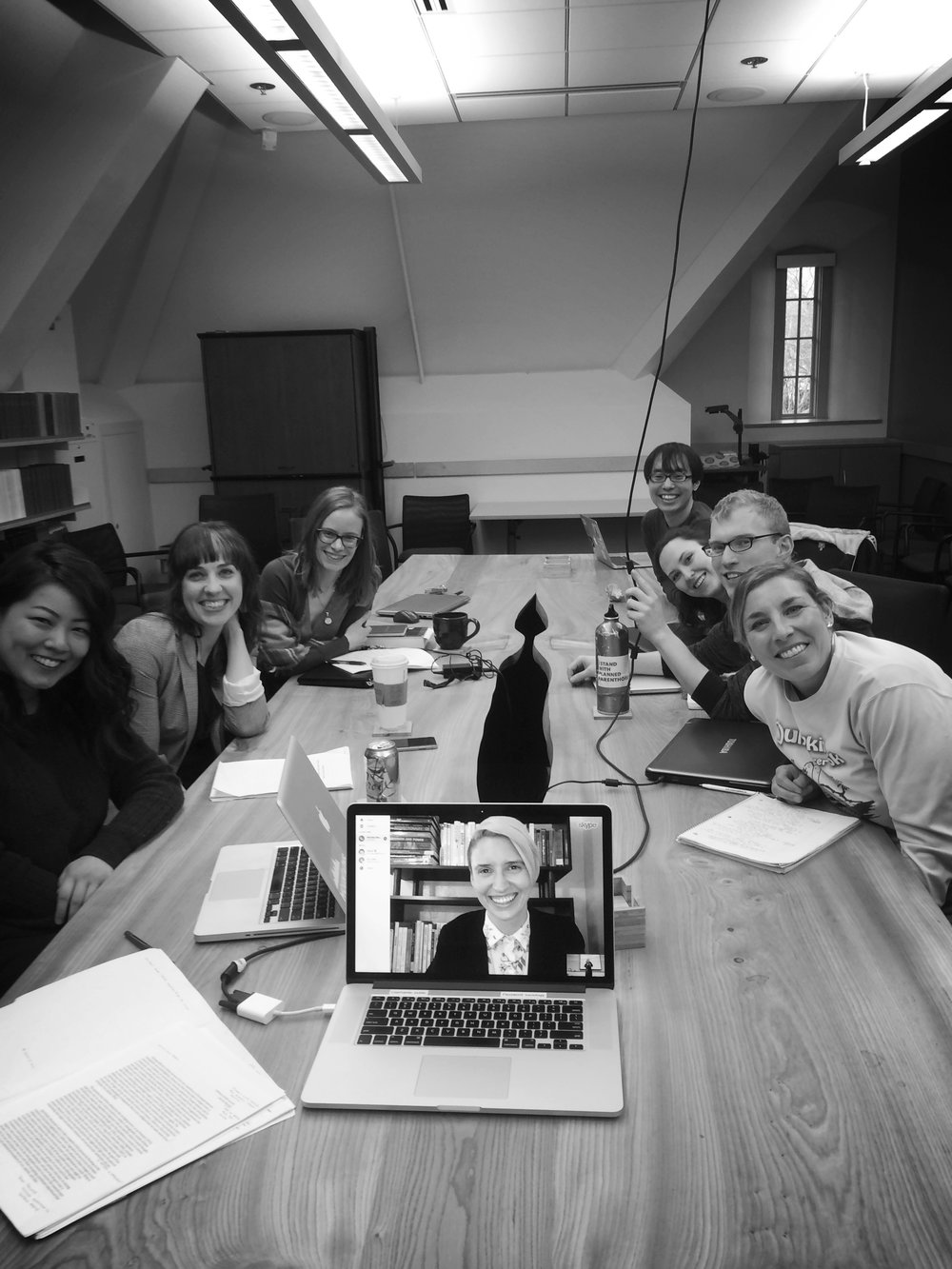 Gender Group Skypes with doctoral candidate Michela Musto from USC, Spring 2017