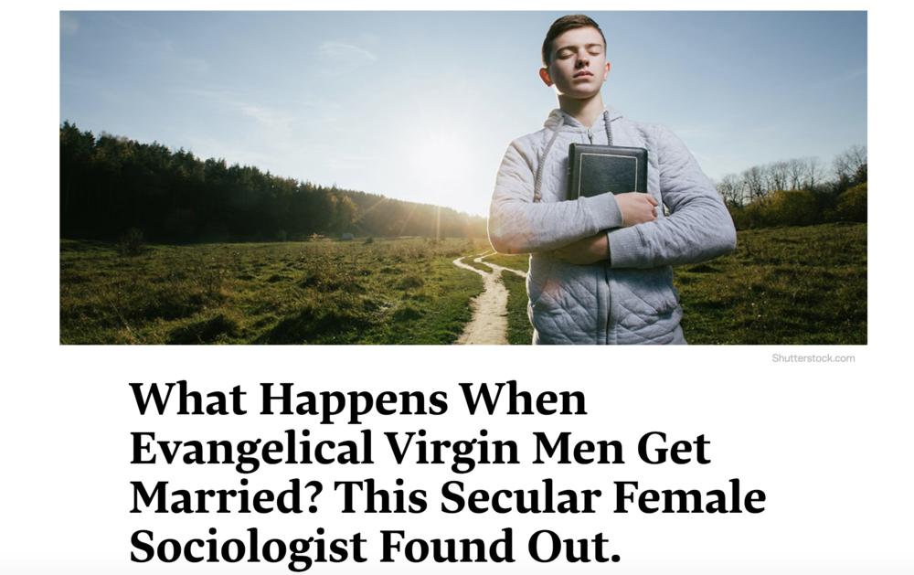 What Happens When Evangelical Virgin Men Get Married?