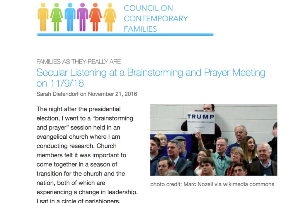 Secular Listening