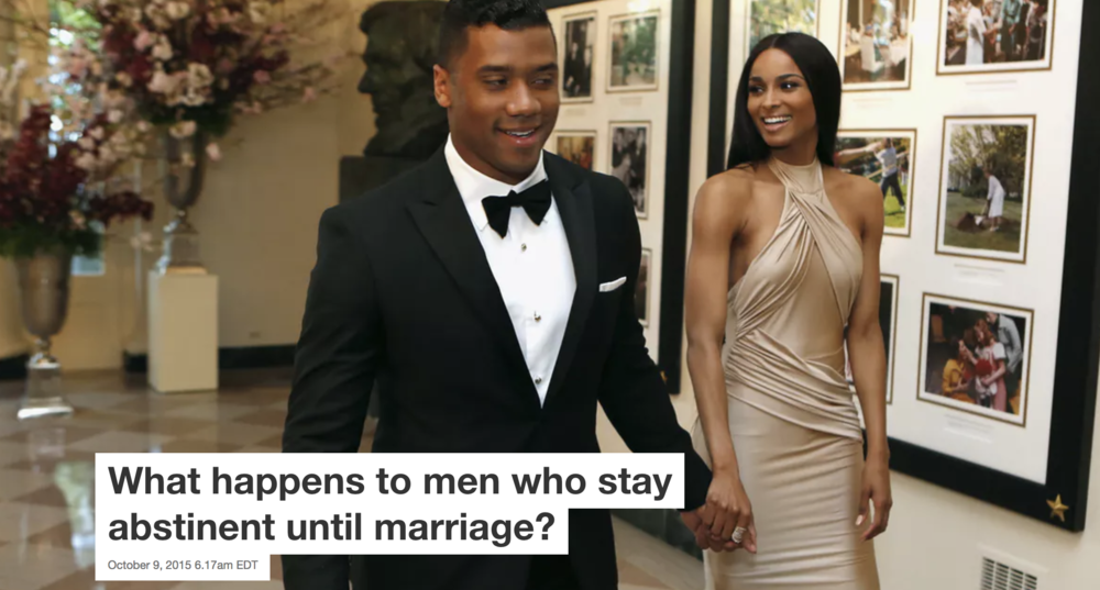 What happens to men who stay abstinent until marriage?