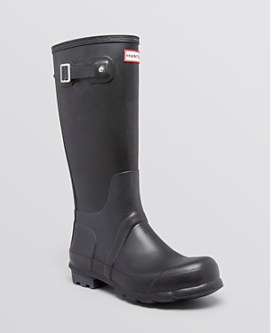 Hunter boots, $155