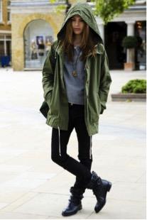 rainy day, army green parka jacket, army green parka, army green coat, army green parka hood,  rainy day outfits, rainy day women