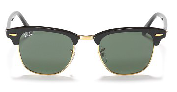 ray-ban club master sunglasses is a summer essential piece, stylebar, style sidekick