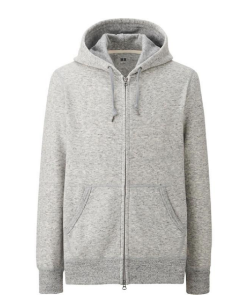 uniqlo full zip sweatshirt is a spring essential, stylebar, style sidekick
