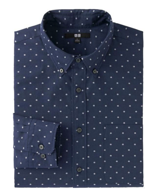 uniqlo extra fine cotton oxford shirt, spring essential 2016, stylebar, style sidekick
