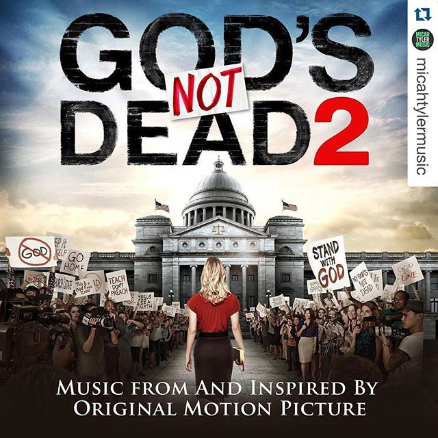 We are so proud for @micahtylermusic! Congratulations friend!! #Repost @micahtylermusic with @repostapp. ・・・ So humbled to find out that a new song of mine will appear on the #GodsNotDead2 soundtrack next month! Honored to be a small part of this awesome ministry. So be on the look out for #Directions :)