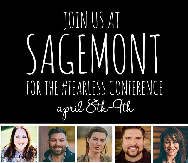 @jennieleeriddle, @charity_gayle, and @crystalyatesmusic are so excited to be serving at Sagemont's #Fearless Women's Conference this weekend along with the rest of the @peopleandsongs band!!