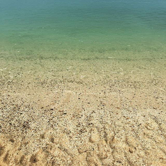 A very inviting sea today... #sea #clear #sand #beach #shallow