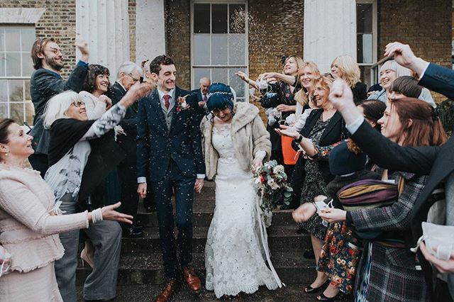 Sneak peak 4 of 4 - Kristin & Felix's stunning and truly personal ceremony @clissoldhouse last weekend. Love getting everyone ready for the confetti moment! #confetti #weddingphotography #weddingphotographer #wedding #brideandgroom #celebration #newlyweds #stokenewington #stokenewingtonwedding #stokenewingtonweddingphotographer